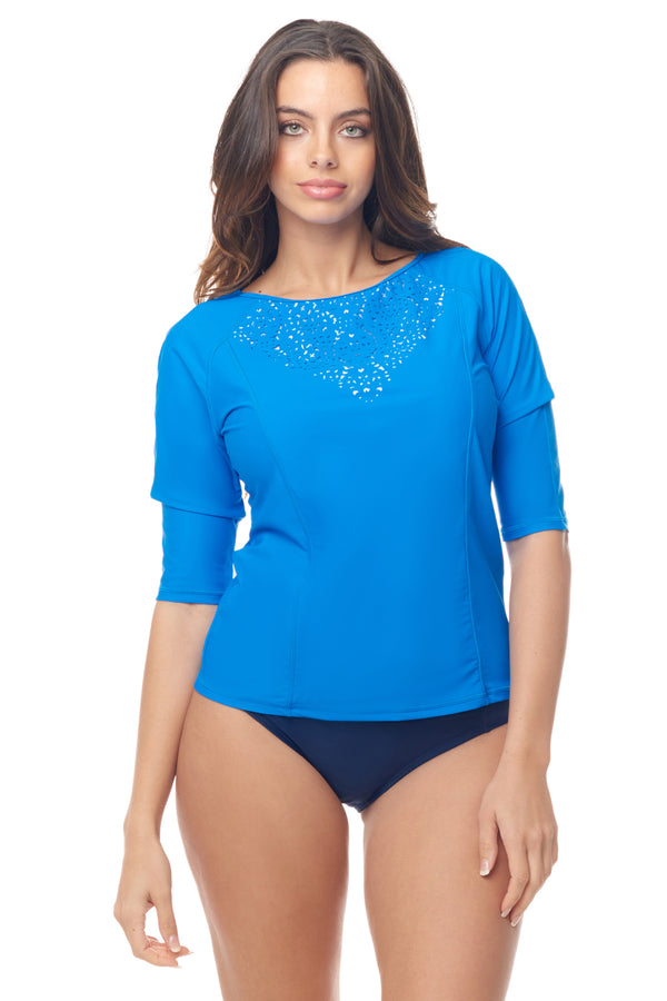 Blue Medallion Rashguard
