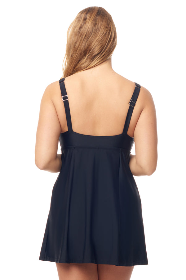 Black Ladder Swimdress