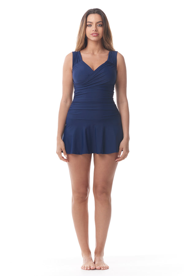 Blue Crossover Swimdress