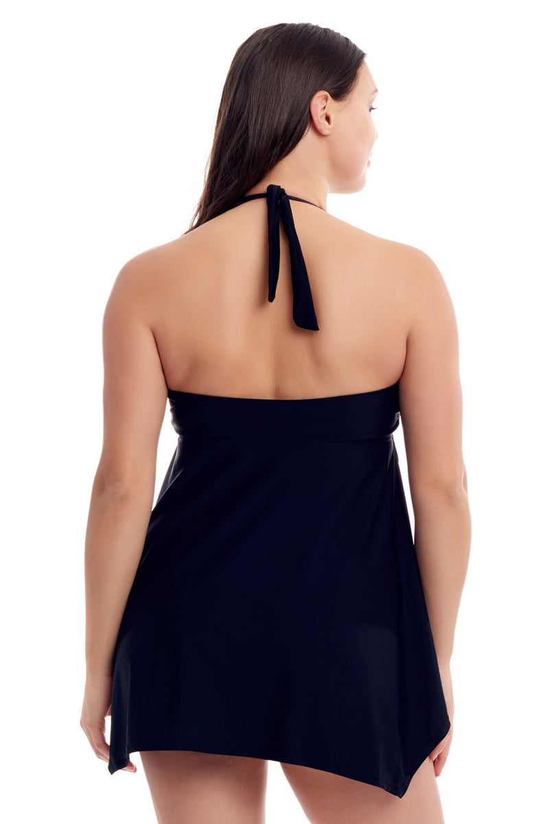 Black Handkerchief Swimdress