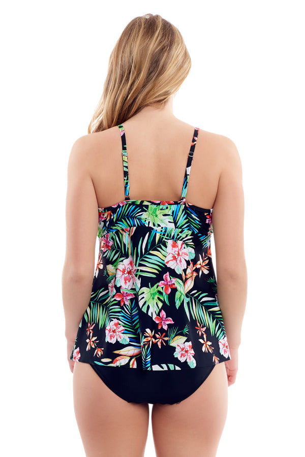 Floral Flower Tankini Top