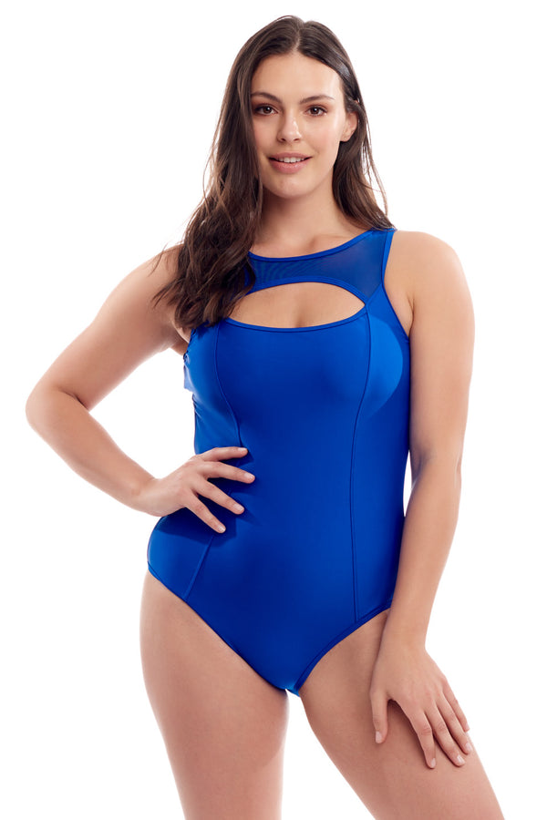 Sporty Mesh One Piece