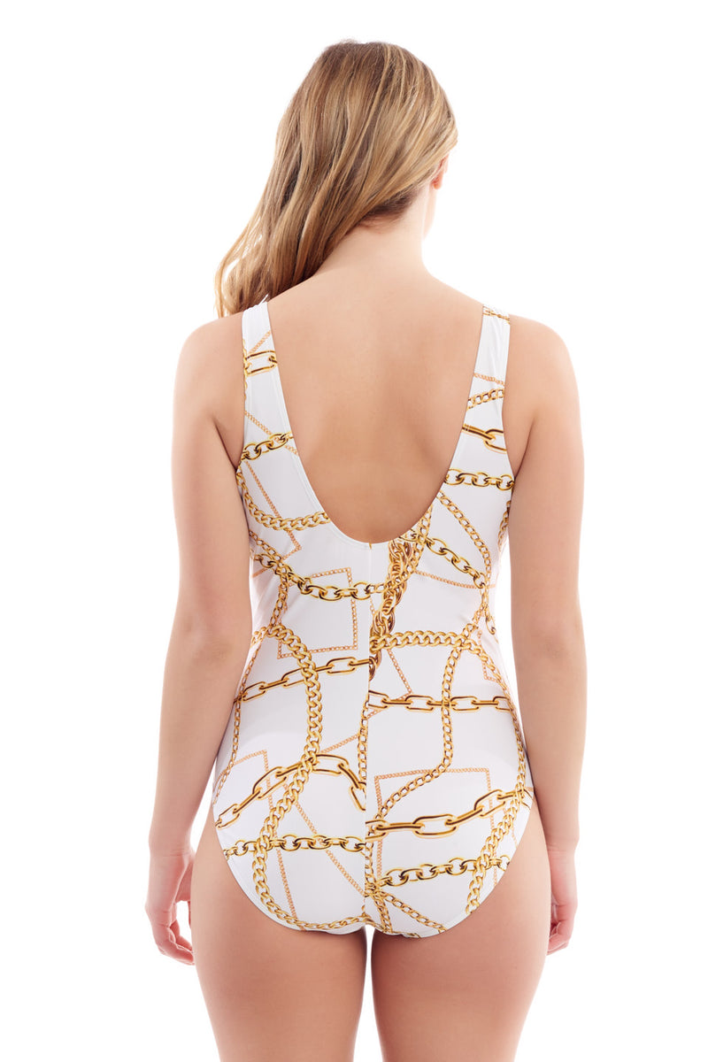 Gold Chains One Piece
