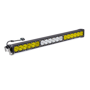Baja Designs OnX6+ Dual Control Amber and Clear LED Light Bar 30 inch