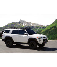 Toyota 4Runner 5th Gen baja off road offroad roof rack gobiracks gobirack gobi stealth ranger light bar multi light setup wind deflector