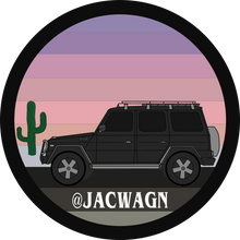 "JWO ""Sunset"" Sticker Vol. 1"