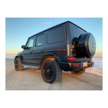 Mercedes G Wagon Black Wheels 5x130 off road red lip 463 industries GC01