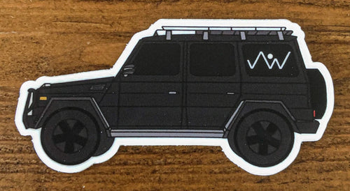 Vinyl Sticker Decal Mercedes G Wagon Truck SUV Jack Wagon Overlanding