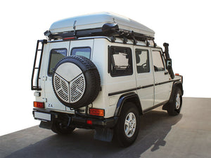 mercedes benz g wagon front runner rear ladder roof rack gelandewagen