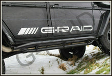 g wagon g wagen geladnewagen rock sliders side step side protection for mercedes g wagon w463 w461 g500 g550 g55 g63