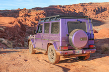 gswagn purple g wagon front runner roof rack ladder