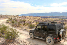 g wagon with gobi stealth roof rack in big bend national park