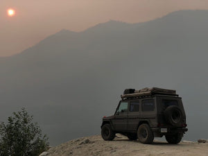 g wagon roof top tent