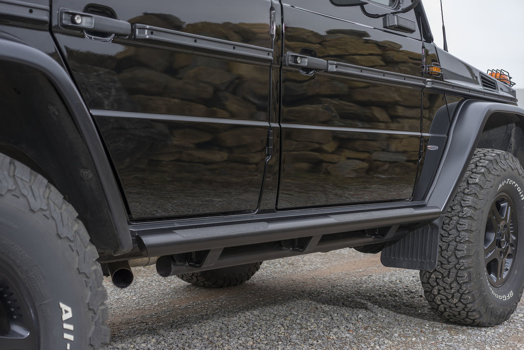 mercedes benz g wagon double sill protection rock slider side step ORC