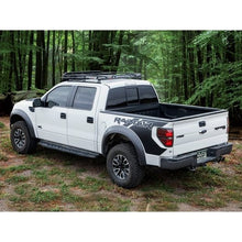 ford f150 f250 f350 raptor baja off road offroad roof rack gobiracks gobirack gobi stealth ranger light bar multi light setup wind deflector