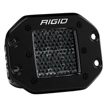 rigid industries d series pro midnight edition led pod light bar flood diffused surface mount flush mount