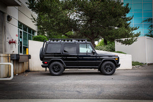 mercedes benz g wagon rockslider g-slide skid protection side step abenteuer 4x4