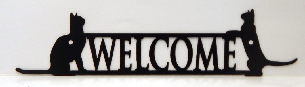 Welcome Sign - Cats