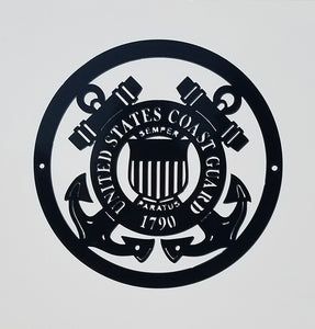 Military Seal - Coast Guard Sign