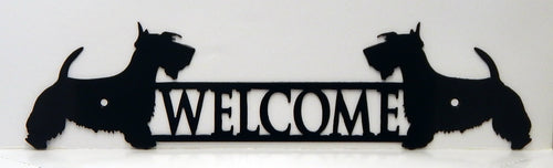 Welcome Sign - Scotty