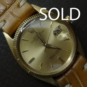 Rolex date 18k gold, 1979. Super condition