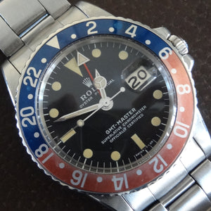 Rolex GMT 1675 Pepsi, circa 1973. super condition