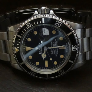 Rolex 1680 Submariner 1978, pumpkin markers