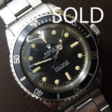 Rolex Submariner 5513 Meters first in superb order