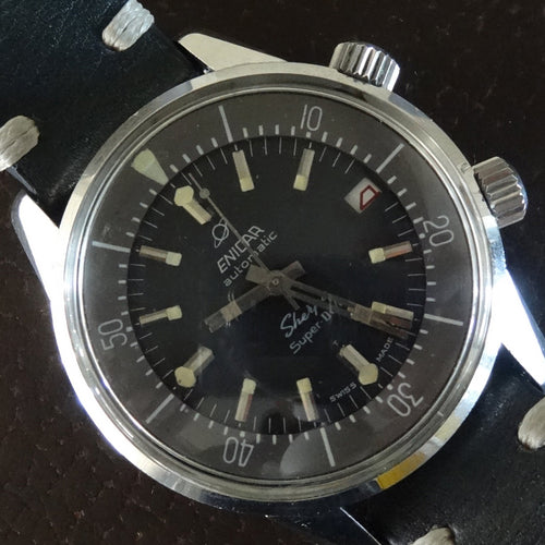 Enicar Sherpa Superdive Polish military