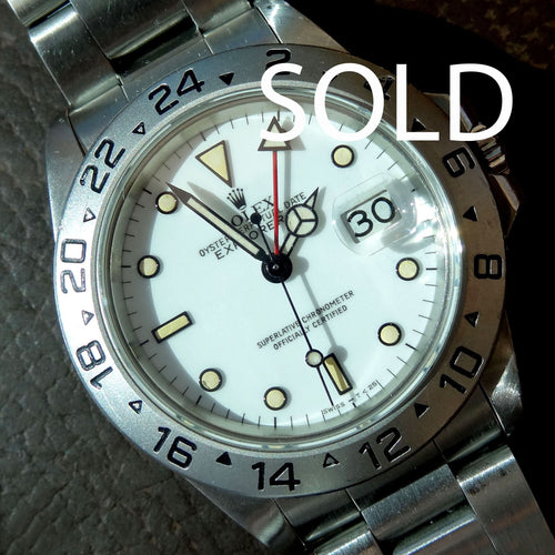 Rolex Explorer 2, reference 16550. 1984