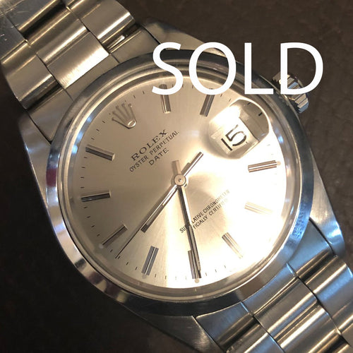 1979 Rolex Oyster perpetual date, box and papers, Rolex service
