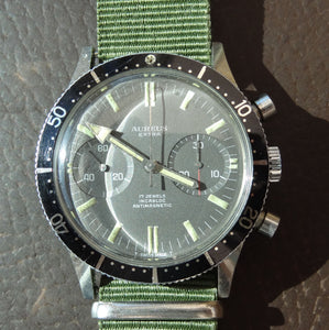 Mid 1960's Aureus Chronograph divers watch