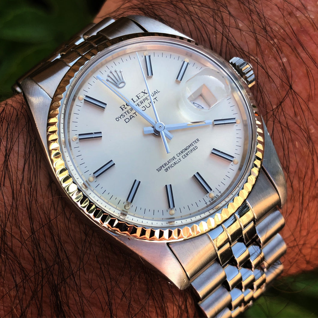 Rolex Datejust 16014 quickset, 1982. Superb