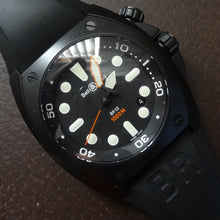 Bell and Ross BR02 watch in black, 2008 , New old stock!