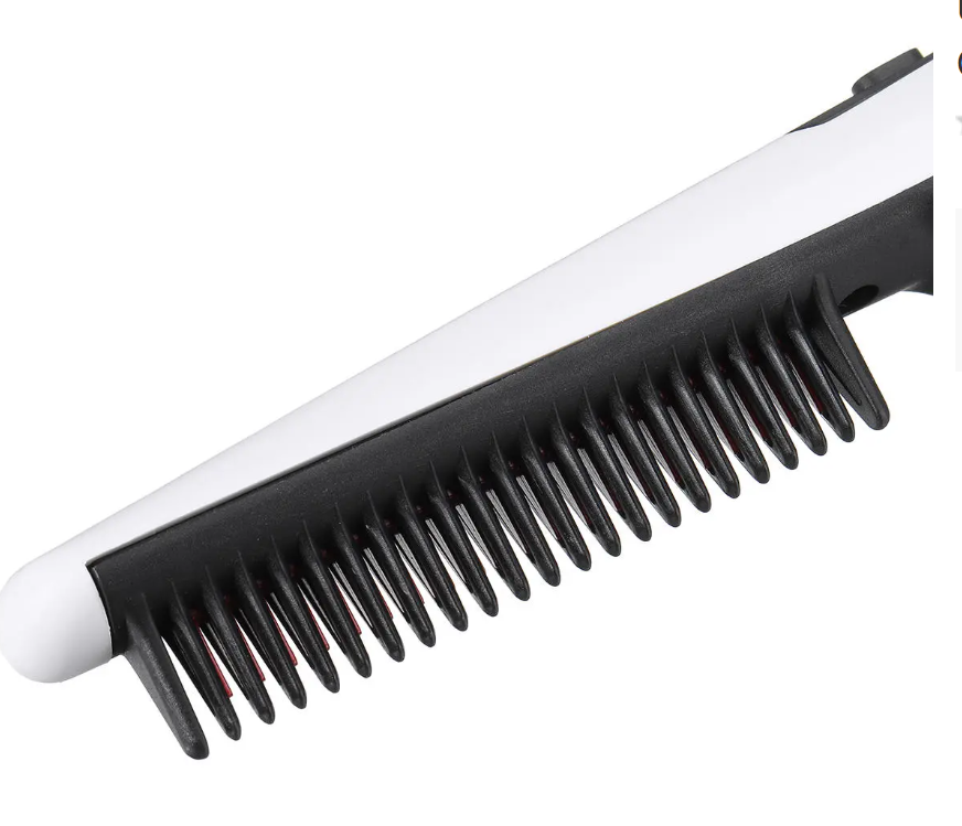 Unisex Electric Beard and Hair Straightener Brush Comb