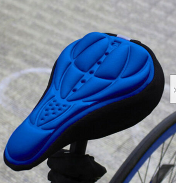Comfortable Gel Bike Seat Cover 3-D Silicone Cushion