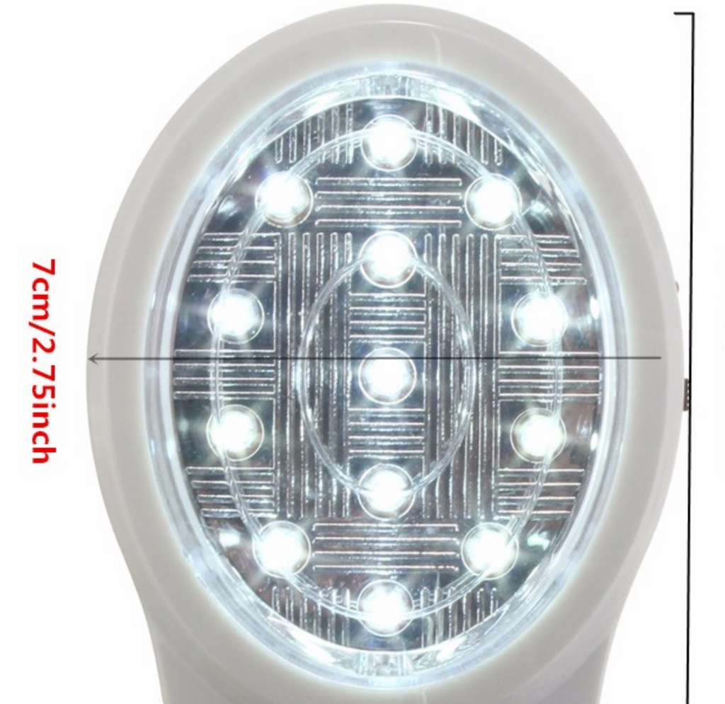Rechargeable Home Emergency 13 LED Light Automatic Power Failure Lamp