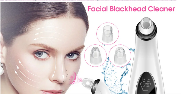 Blackhead Facial Pore Cleaner Suction Vacuum Extractor Electric Tool