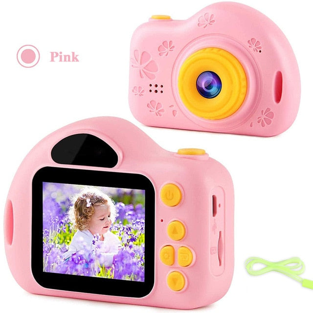 2020 Kids Camera With HD Photo-Video Digital Functions 2.0 inch Screen