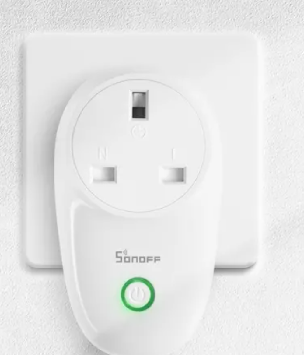 Sonoff-S26 Smart Wifi Plug-Works With Alexa And Google Assistant