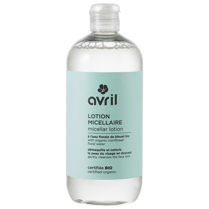 avril lotion micellaire bio et vegan 500 ml