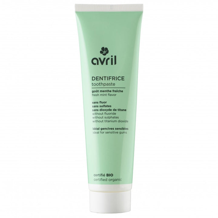 avril dentifrice naturel sans fluor bio et vegan