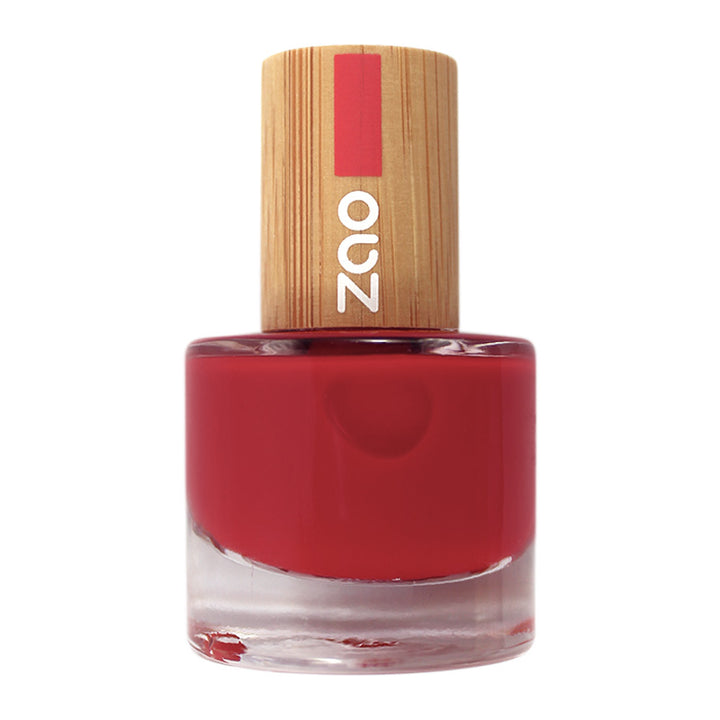 zao make up vernis à ongles 650 rouge carmin