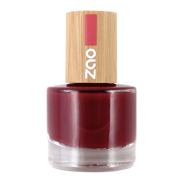 zao make-up vernis à ongles 668 rouge passion
