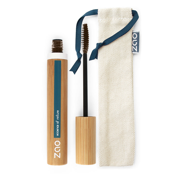 zao mascara volume et gainage 086 cacao certifié bio