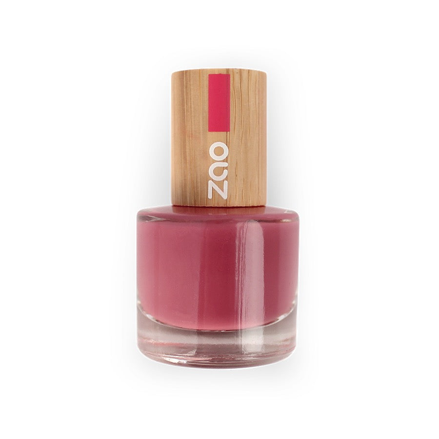 zao make up vernis à ongles 671 bois de rose