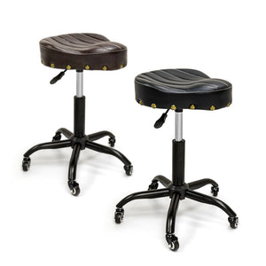 Durable Classic Bicycle Seat Sadde Swivel Stool