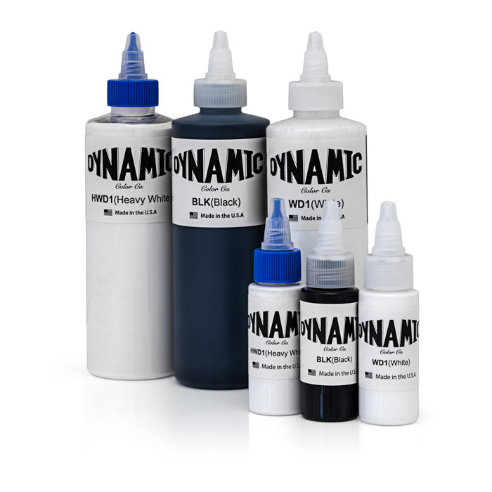 Black and White Inks - Dynamic Color Co.