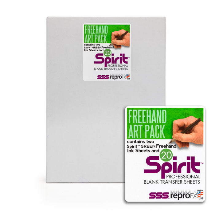 Spirit 2&20 Freehand Pack Green