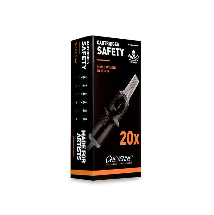 Cheyenne Original Safety Flat Cartridges - 20X Box
